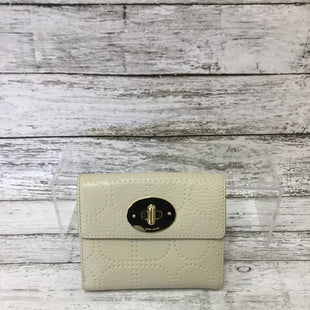 Primary Photo - BRAND: KATE SPADE STYLE: WALLET COLOR: CREAM SIZE: SMALL SKU: 125-4893-4143