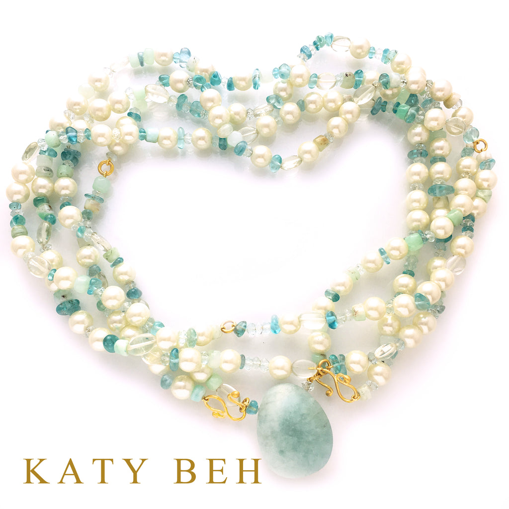 Custom Story: Heirloom Pearl Necklace Redesign