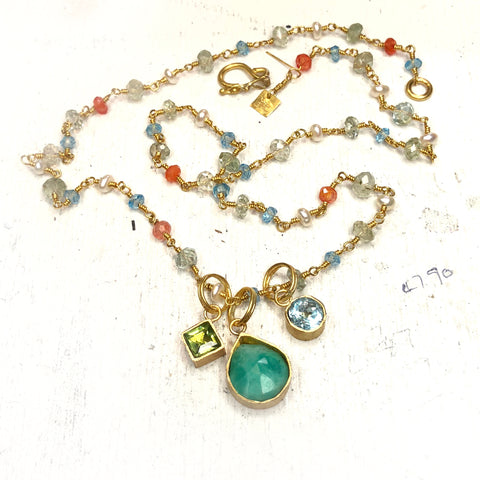 Custom Mother's Necklace | Katy Beh Jewelry New Orleans