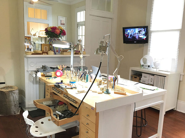 Katy Beh Jewelry studio in New Orleans
