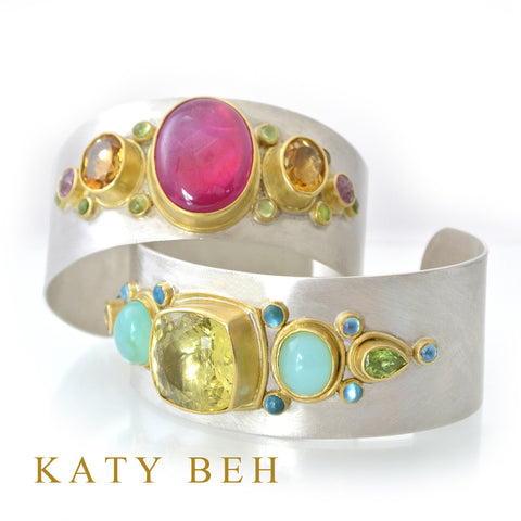 Katy Beh Jewelry one of a kind bracelets.