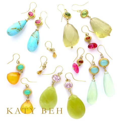 Katy Beh Jewelry one of a kind earrings