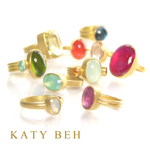Katy Beh Jewelry one of kind rings.