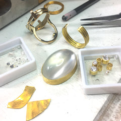 Katy Beh Moonstone Inherited Jewelry New Orleans