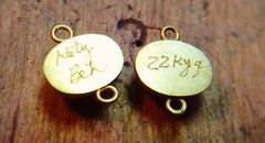 Authentic Katy Beh 22k Earrings