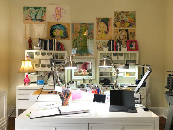 New Orleans studio of jewelry designer Katy Beh