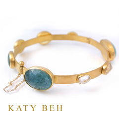 Custom Mary Bracelet by Katy Beh Jewelry