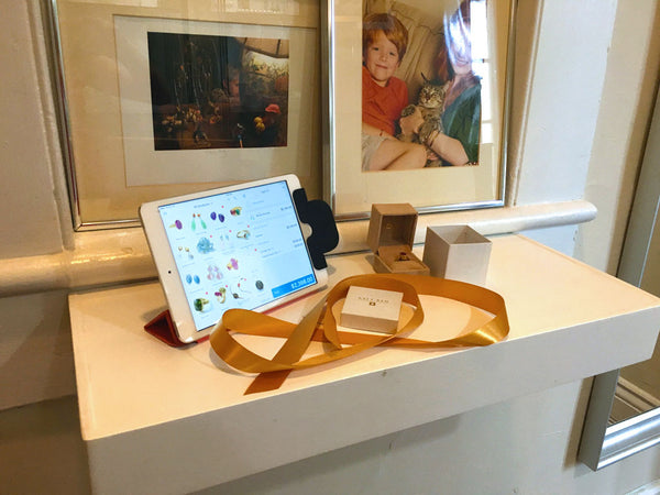 Shopify POS app used by Katy Beh Jewelry New Orleans