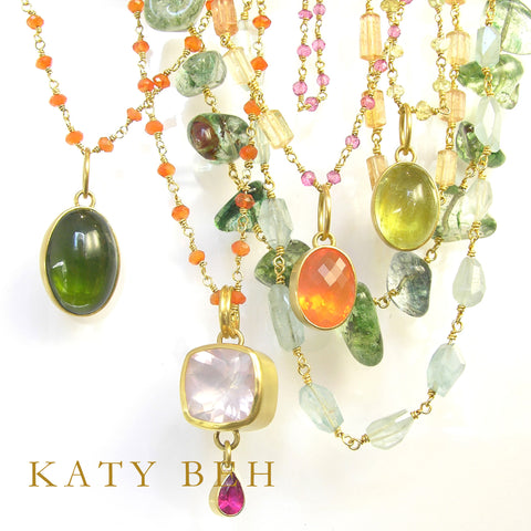 Katy Beh one of a kind necklaces