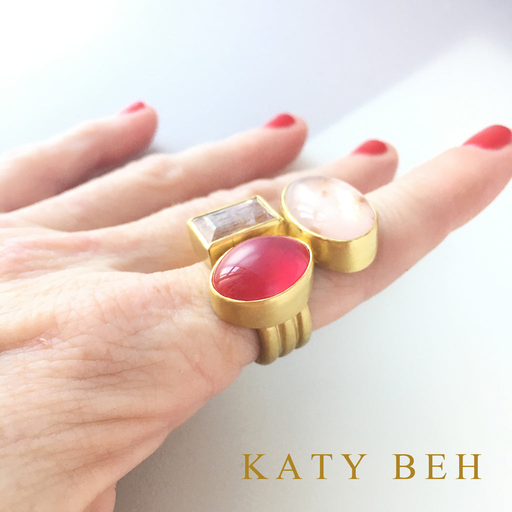 Gail Ring - Katy Beh Jewelry - 4