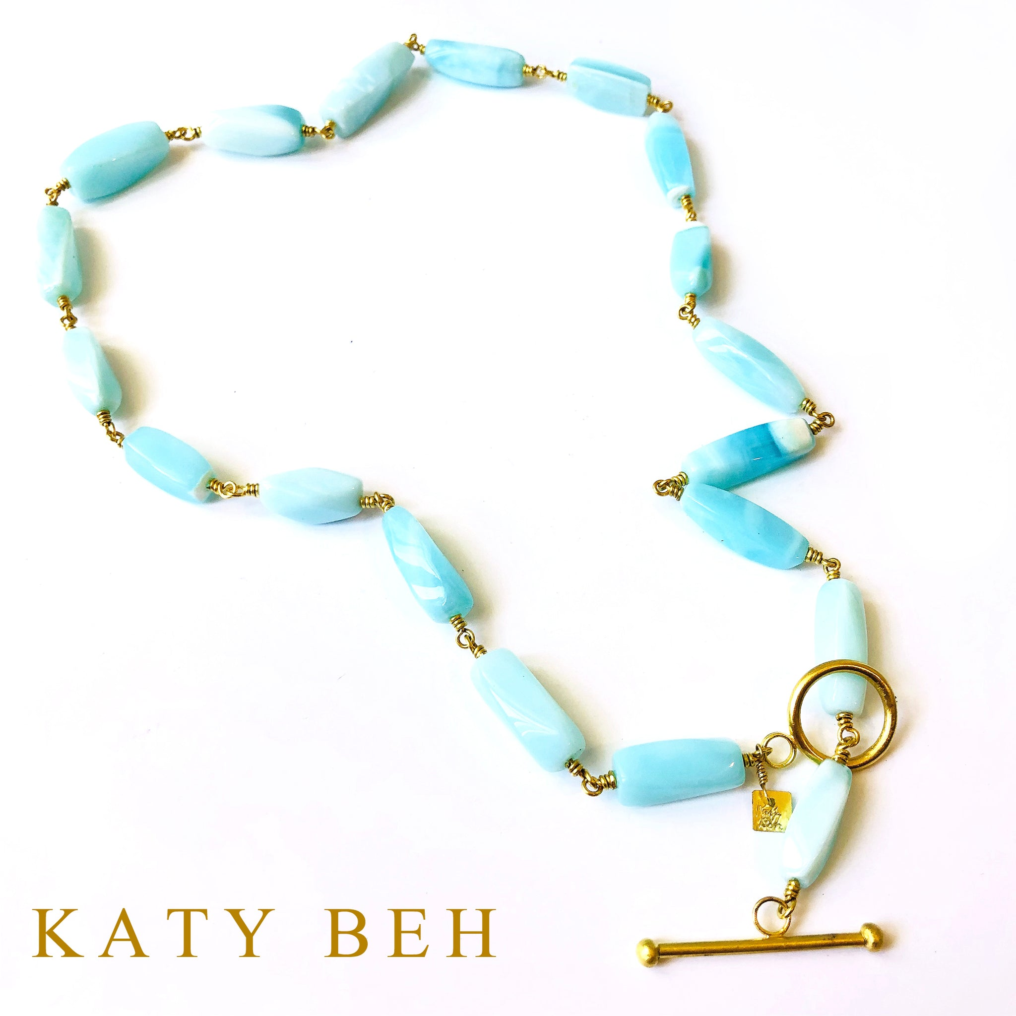Bella Peruvian Opal Necklace