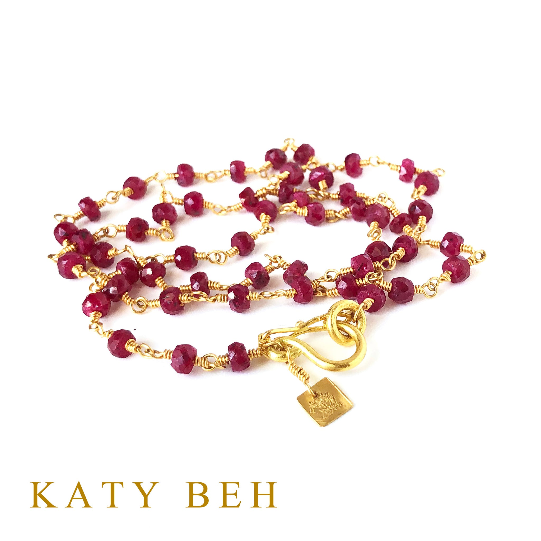Bonita Ruby Necklace