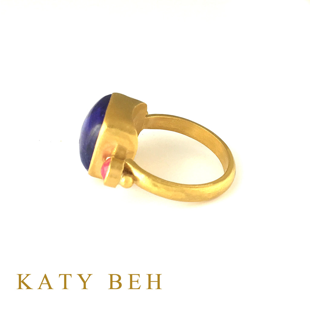 Cammie Tanzanite & Ruby Ring