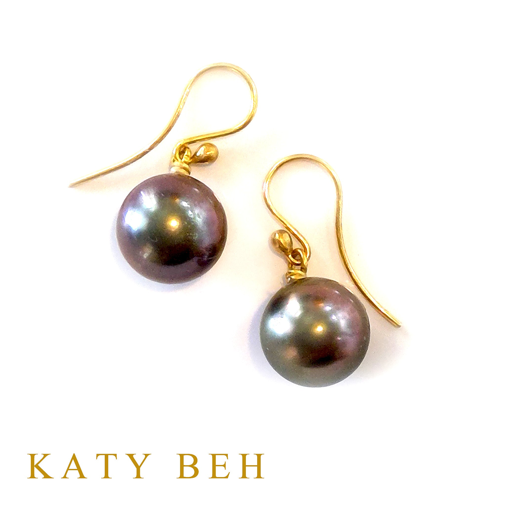 Christina Tahitian South Sea Pearl Earrings