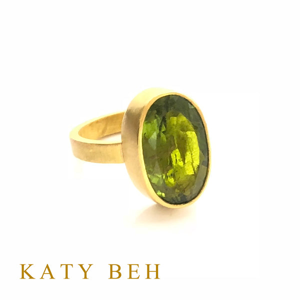 Colleen Peridot Ring