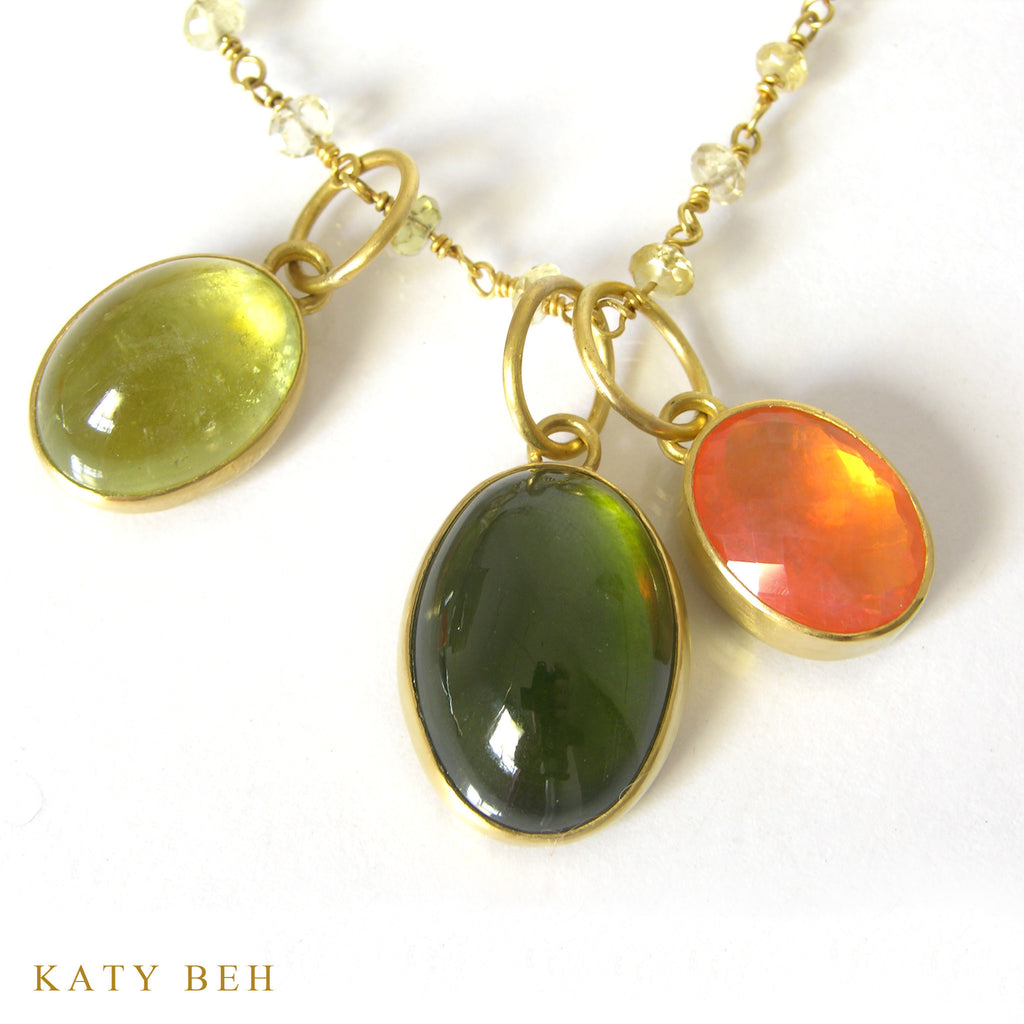 Pendant - Katy Beh 22k Gold Handmade Jewelry New Orleans