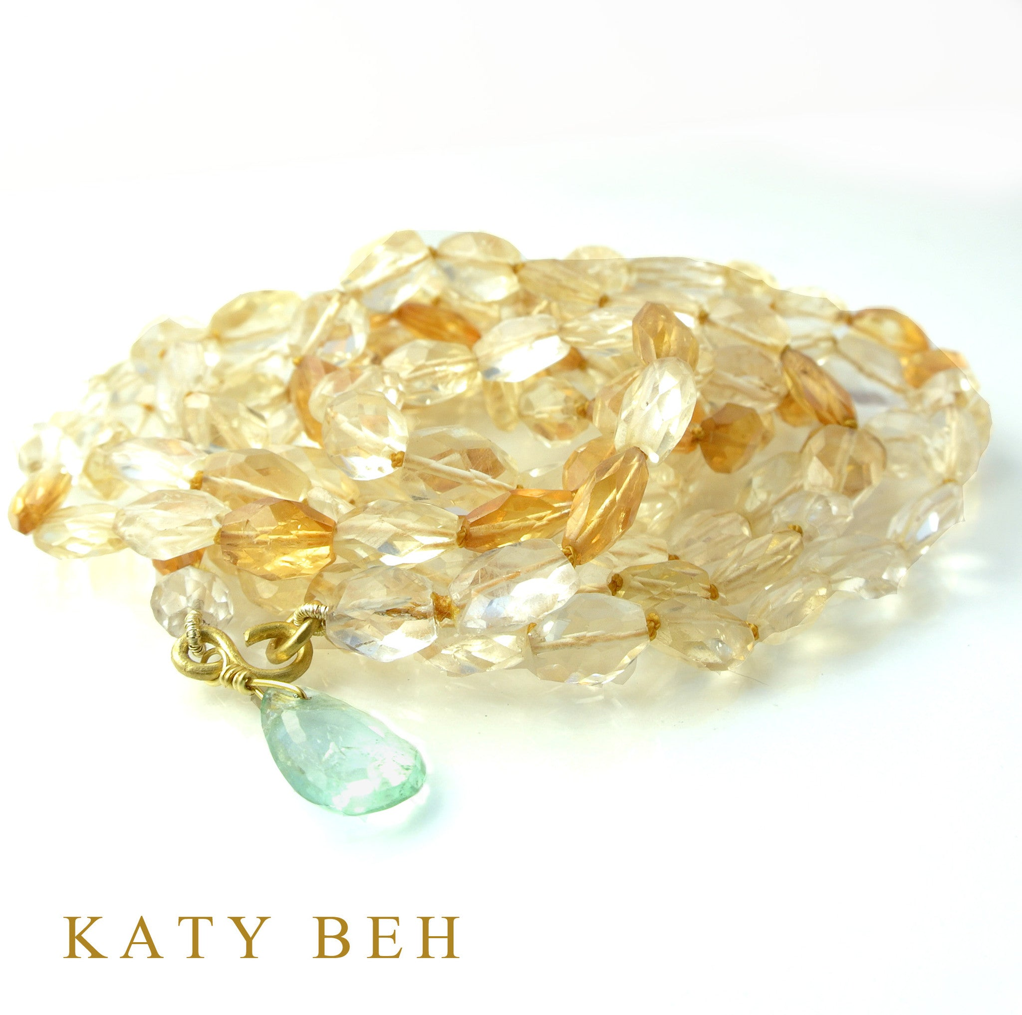 Dee Dee Necklace - Katy Beh Jewelry - 1