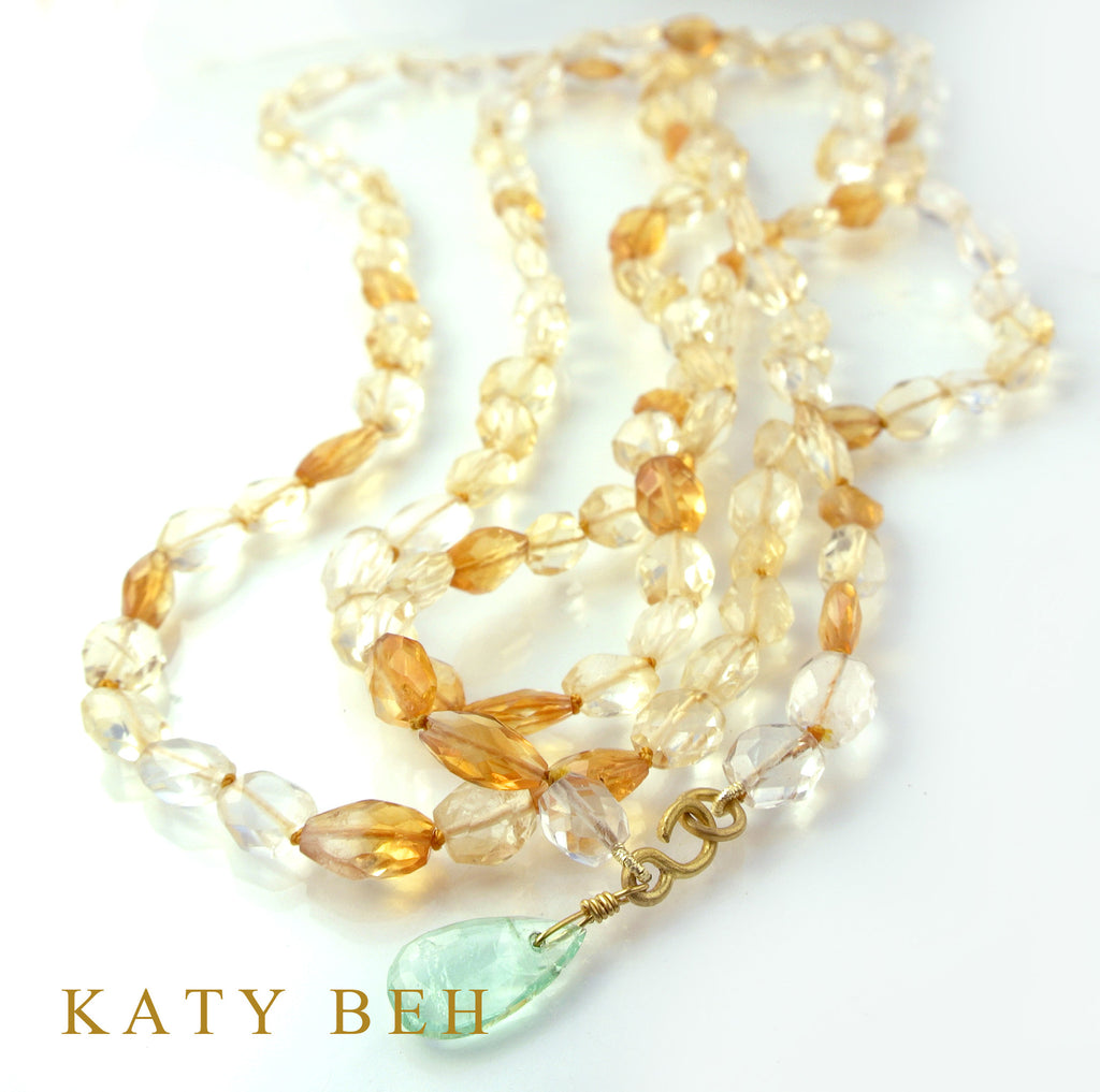 Dee Dee Necklace - Katy Beh Jewelry - 2