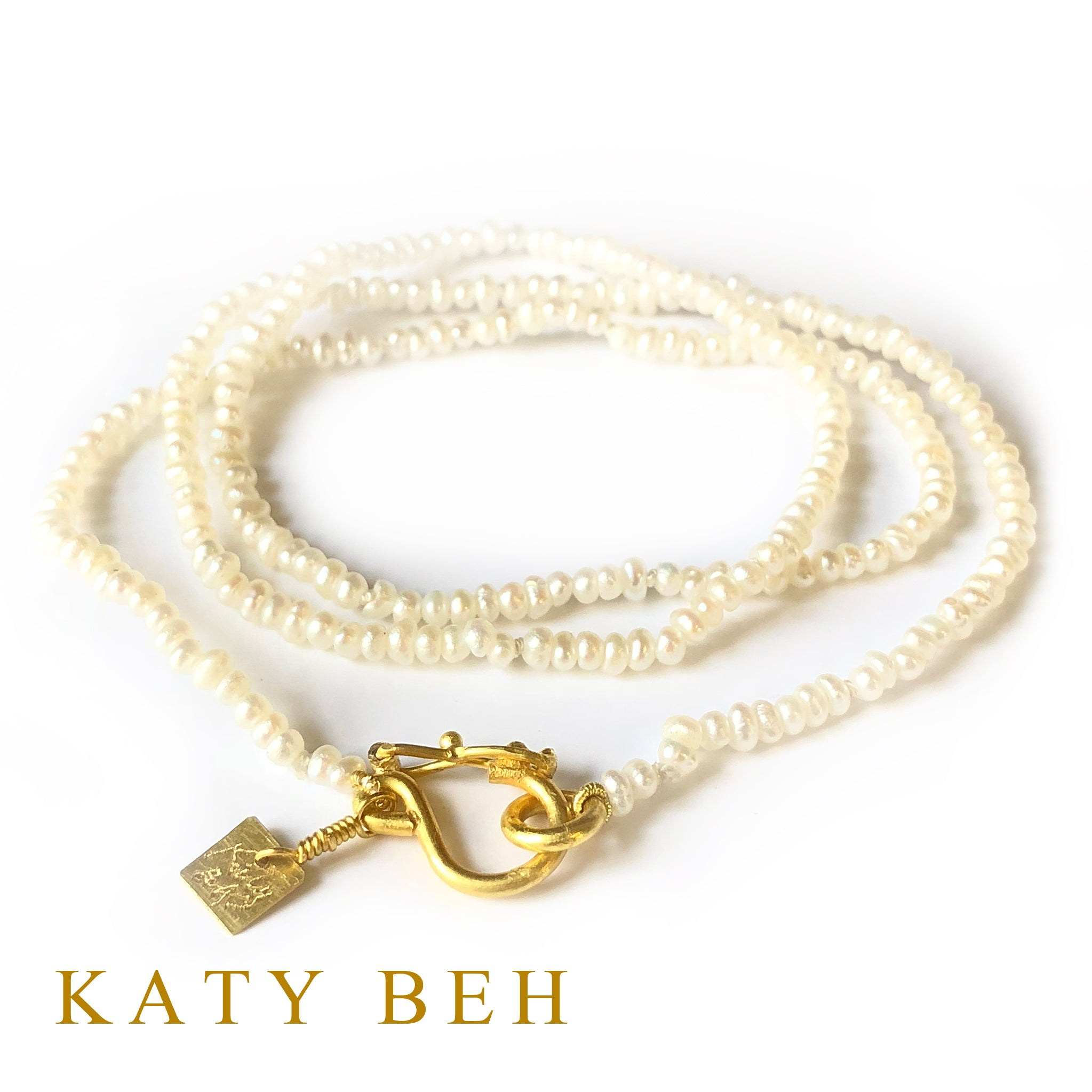 Edith Pearl Necklace
