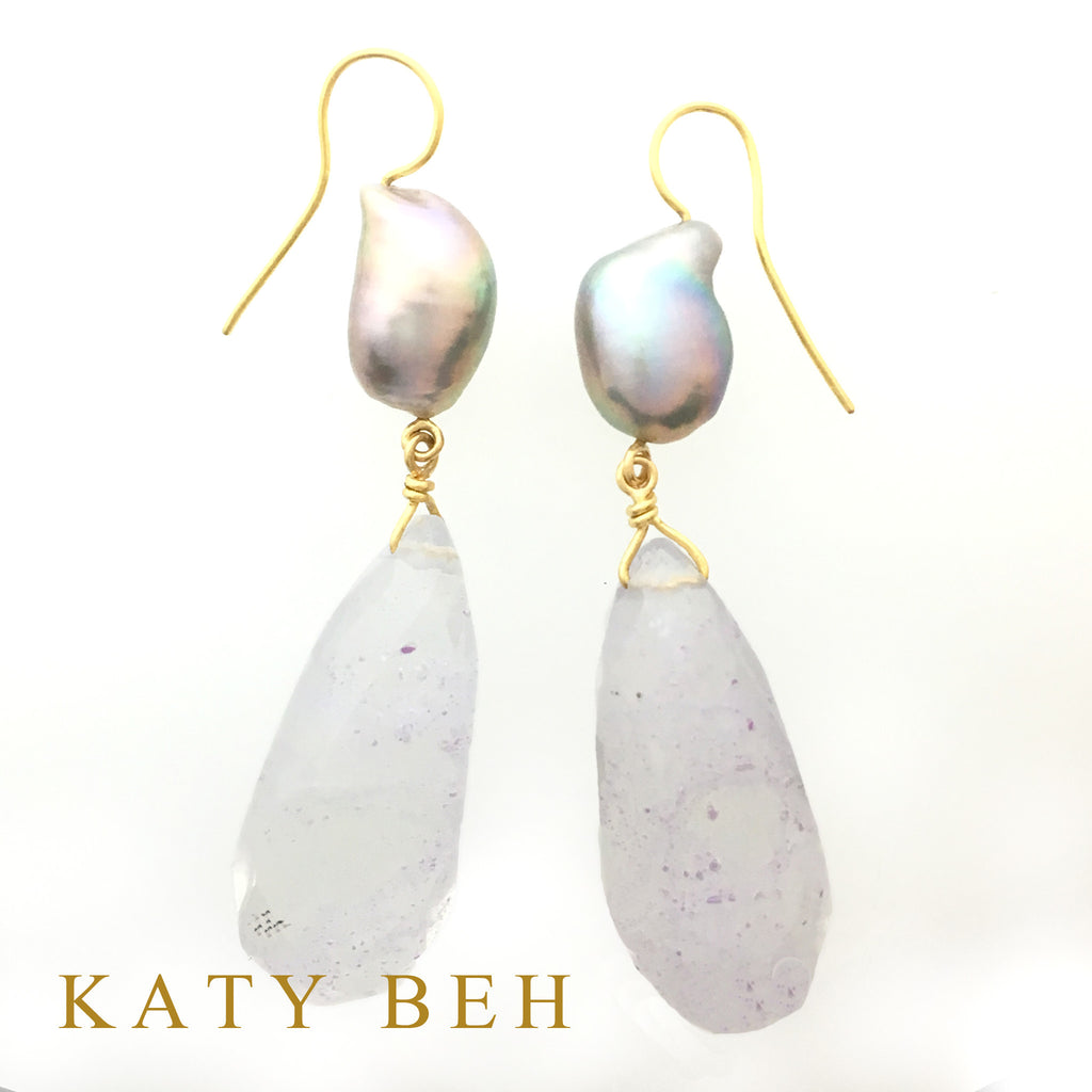 Paula Earrings - Katy Beh Jewelry
