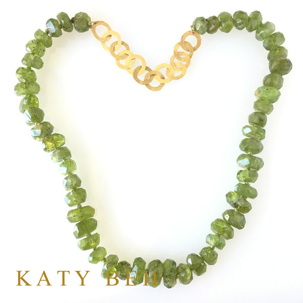Fiona Peridot Necklace