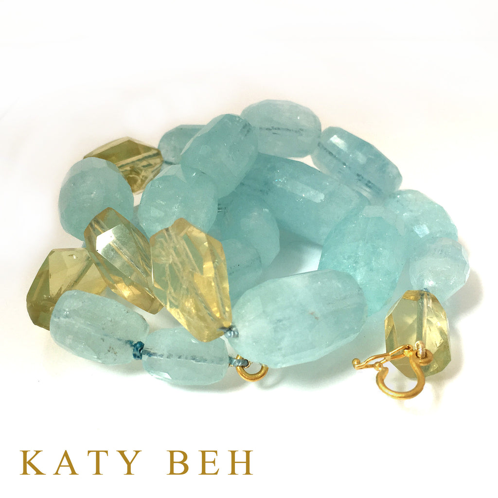 Necklaces - Katy Beh 22k Gold Handmade Jewelry New Orleans