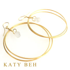 Jane Earrings - Katy Beh Jewelry - 2