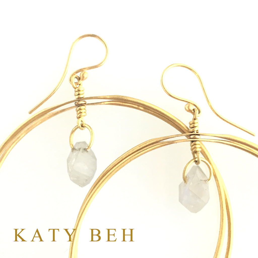 Jane Earrings - Katy Beh Jewelry - 3