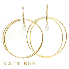 Jane Earrings - Katy Beh Jewelry - 1
