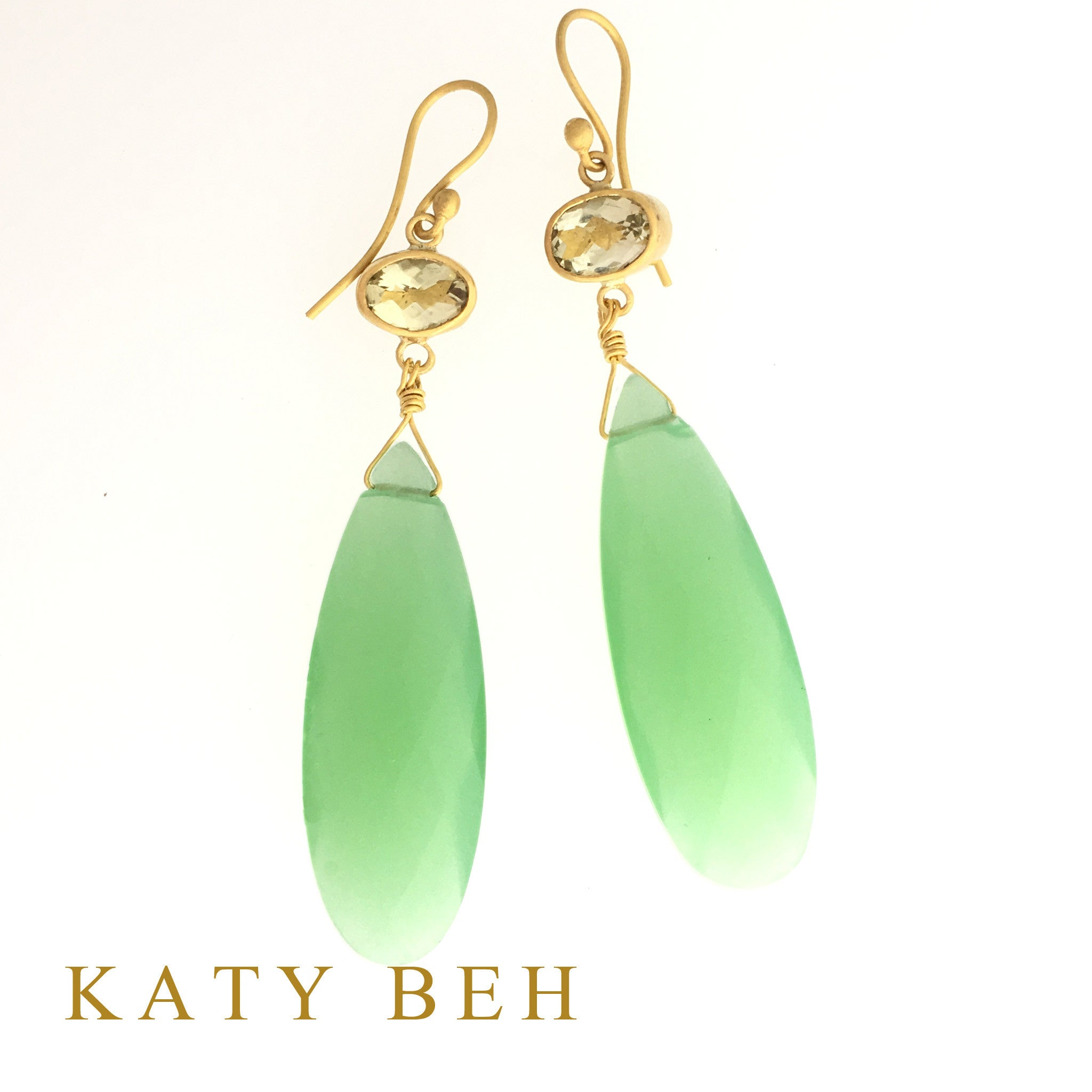 Meg Earrings - Katy Beh Jewelry