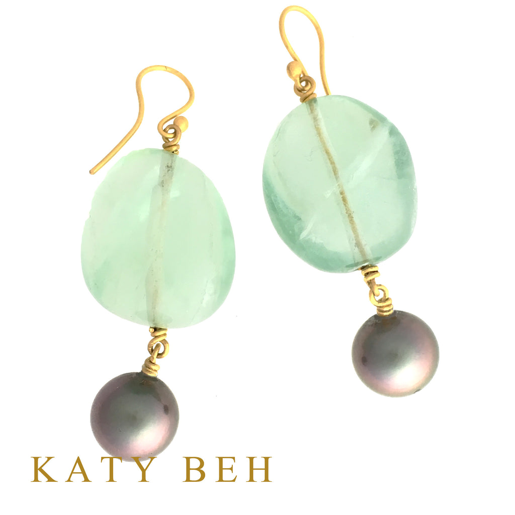 Diana Earrings - Katy Beh Jewelry