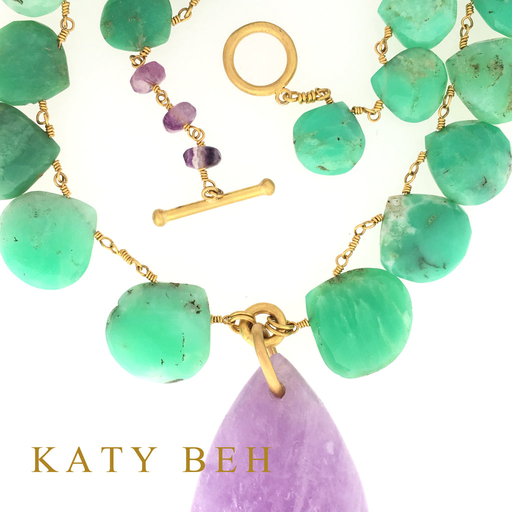 Lexie Necklace - Katy Beh Jewelry - 6