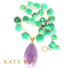 Lexie Necklace - Katy Beh Jewelry - 7