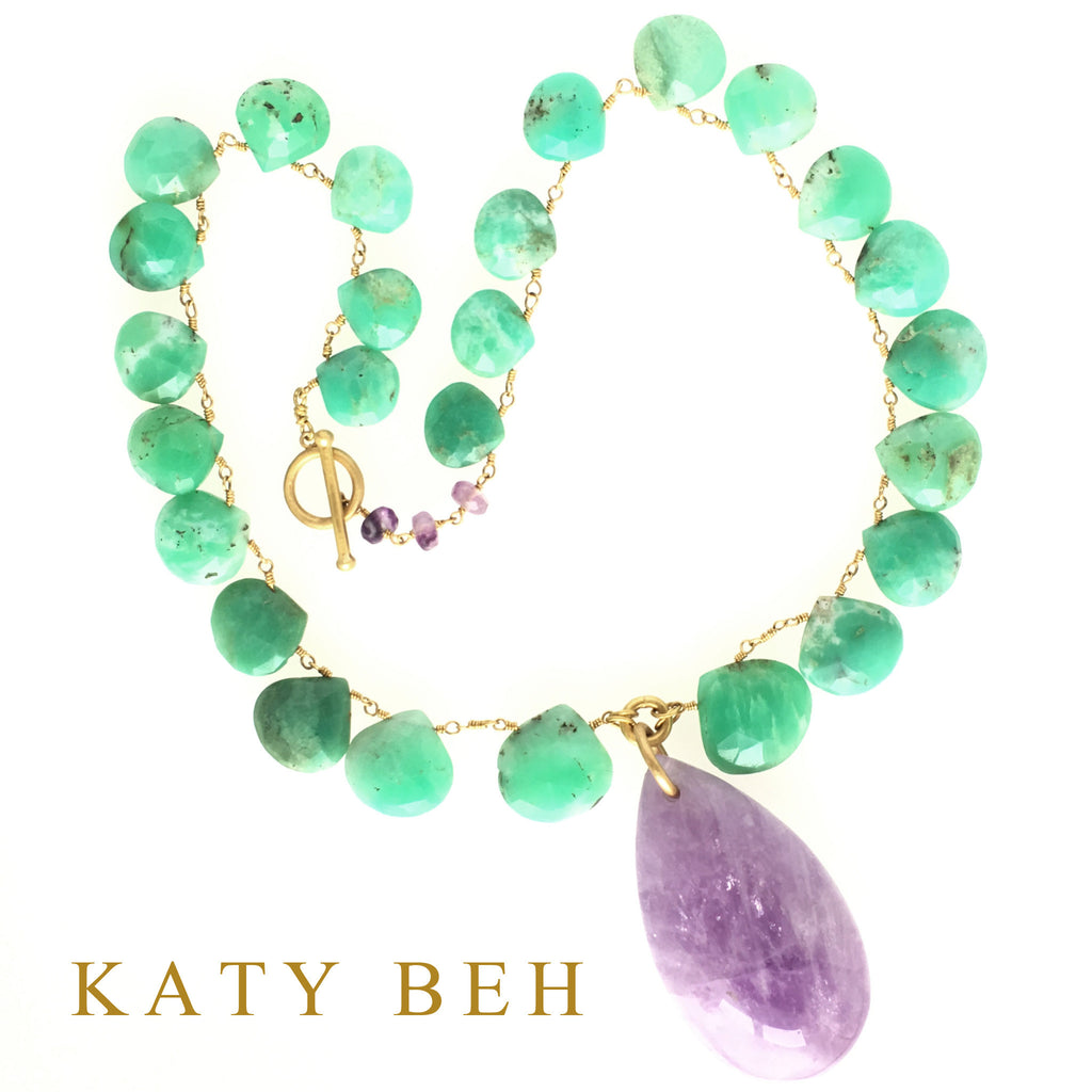 Lexie Necklace - Katy Beh Jewelry - 10