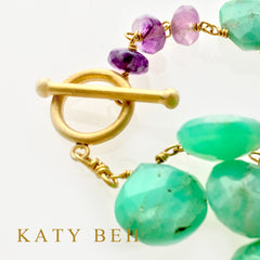Lexie Necklace - Katy Beh Jewelry - 4