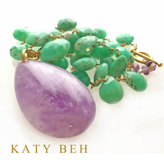 Lexie Necklace - Katy Beh Jewelry - 1