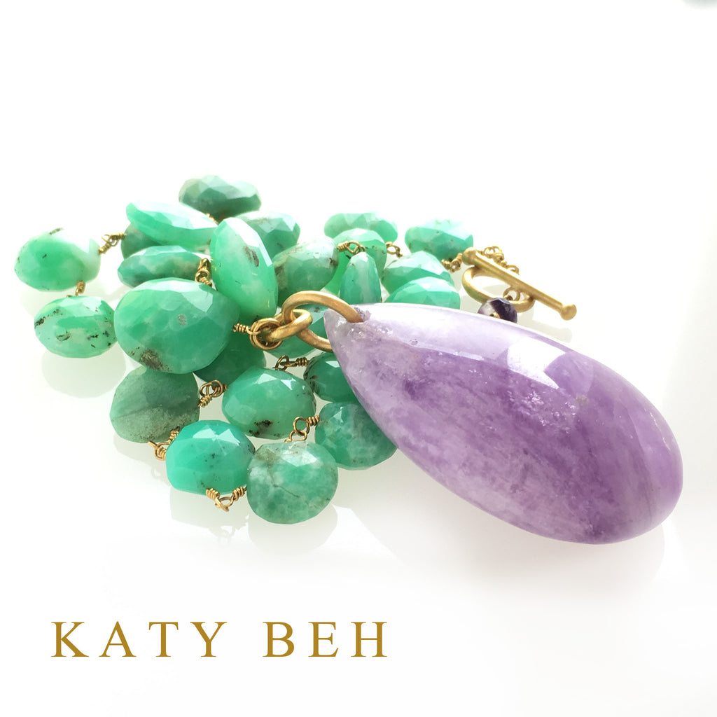 Lexie Necklace - Katy Beh Jewelry - 9