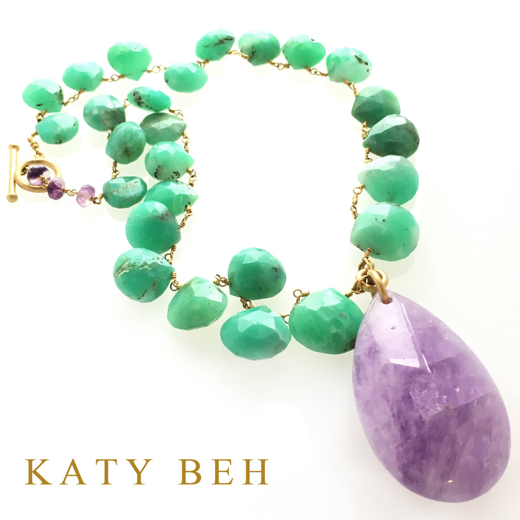Lexie Necklace - Katy Beh Jewelry - 2