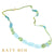 Judy Aquamarine, Prehnite, Apatite, Peridot Mix Necklace