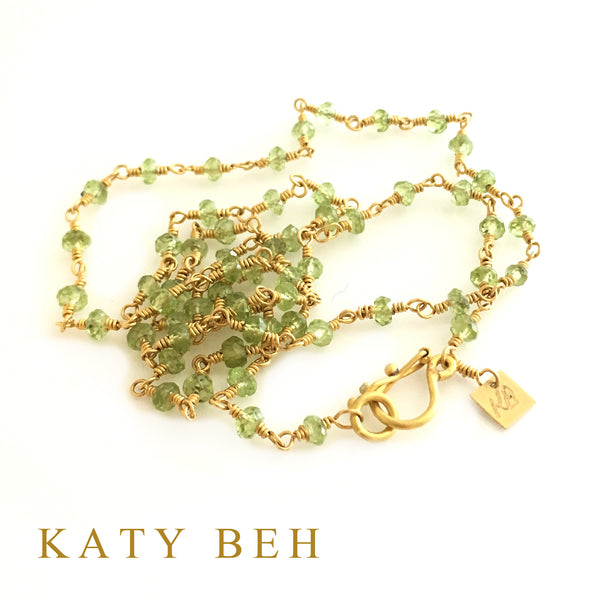 Cosette Peridot Necklace