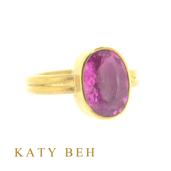 Addison Rubellite Ring