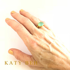 Lauren Peruvian Opal Ring