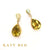 Leora Opal and Lemon Quartz Earrings