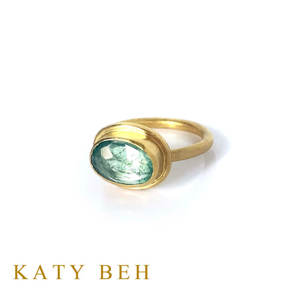 Norah Emerald Ring