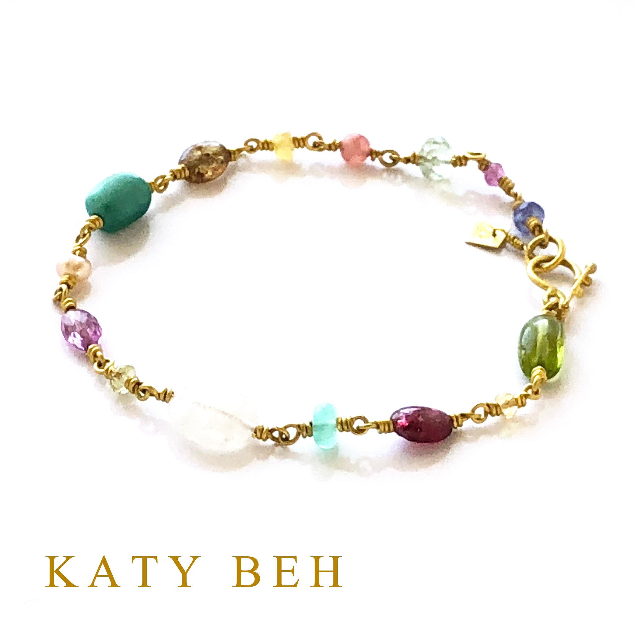 Pepa Fancy Gemstone Bracelet