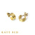 Quincy 22k Gold Hoop Earrings