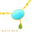 Sissy Turquoise, Welo Opal and Peridot Necklace