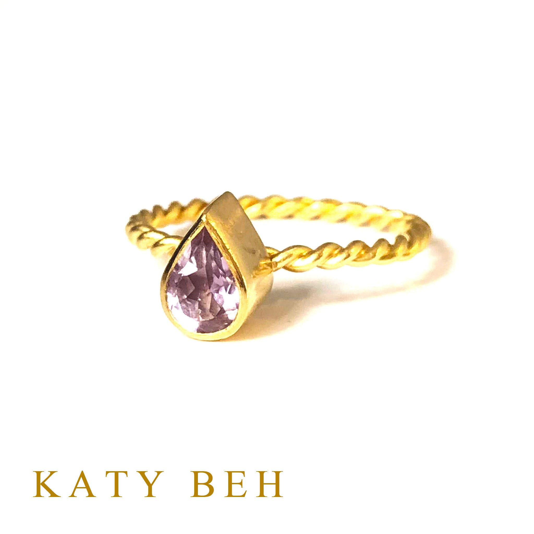 Sperry Amethyst Ring