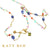Thea Tanzanite and Fancy Mix Gemstone Necklace