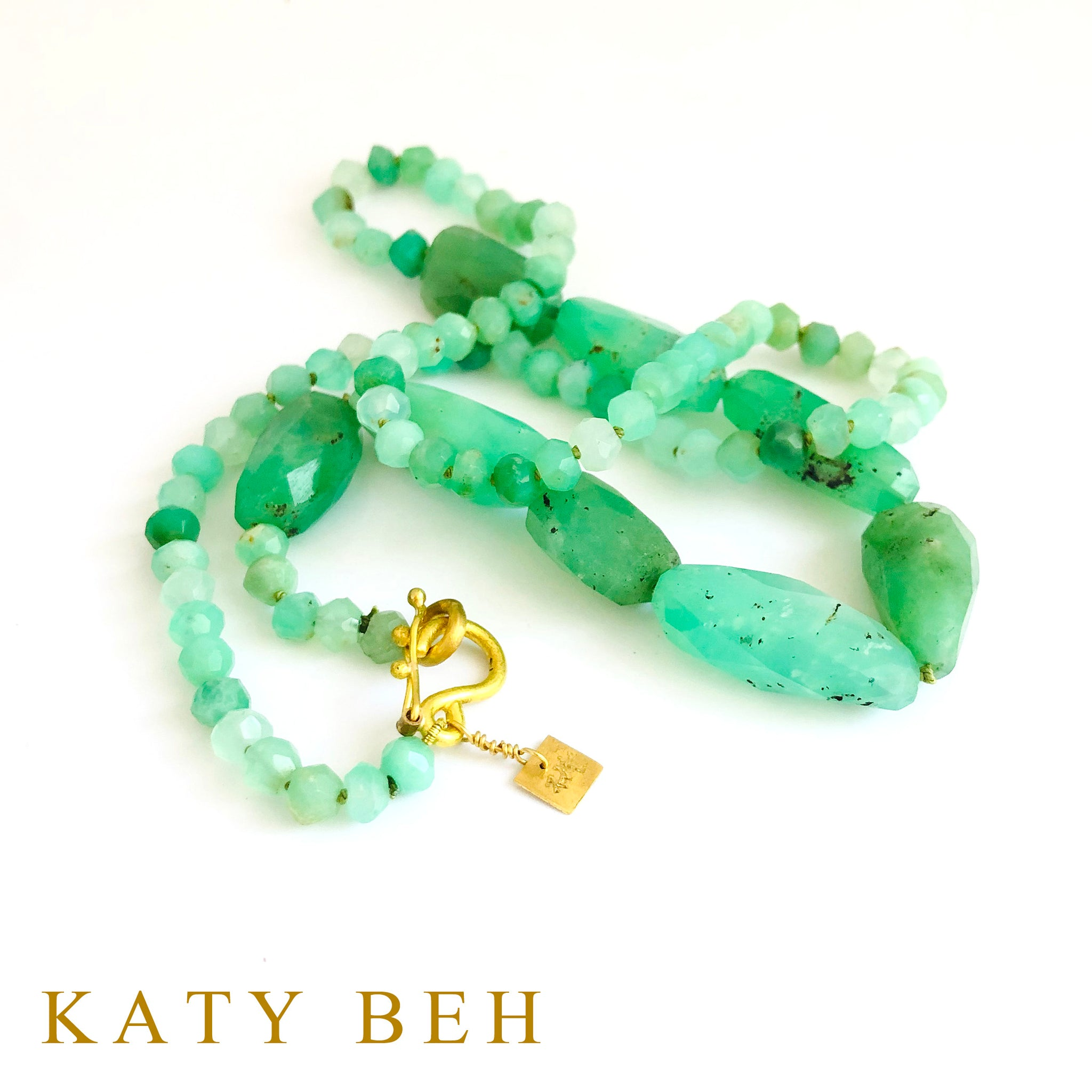 Willow Chrysoprase Necklace